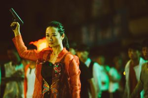 Zhao Tao, actriu fetitxe de Jia Zhang-ke, en una escena de Ash is purest white