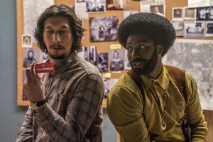 Els actors Adam Driver i John David Washington, policies infiltrats al Ku Klux Klan de BlacKkKlansman