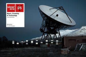 El cartell d'aquest any recorda el Sónar Calling, en què 38 artistes han enviat peces musicals a un exoplaneta potencialment habitable