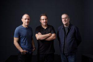 Enric Palau (programació), Sergio Caballero (imatge) i Ricard Robles (comunicació), <em>els tres mosqueters</em> del Sónar