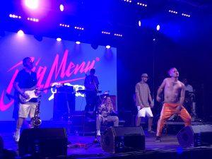 VICENÇ BATALLA | Tota la tropa de MC que es van portar els músics de hip hop instrumental Big Menu