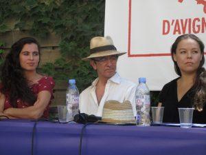 VICENÇ BATALLA | Sílvia Pérez Cruz, Carlos Marquerie y Rocío Molina en la charla con el periodista Laurent Goumarre