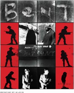 GILBERT & GEORGE | L'obra Bent shit cunt, del 1977, exposada a la retrospectiva de la parella d'artistes