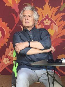 VICENÇ BATALLA | El productor discogràfic Francis Falceto, a la xerrada a Lió el juliol passat just abans de la nit Éthiopiques